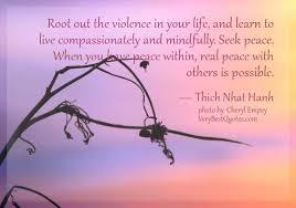 peaceandviolence